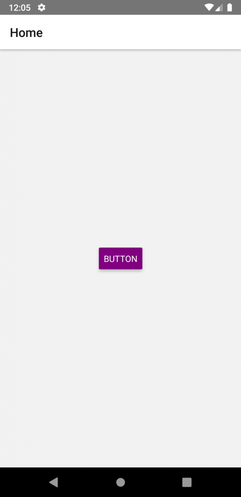 change color of button react native