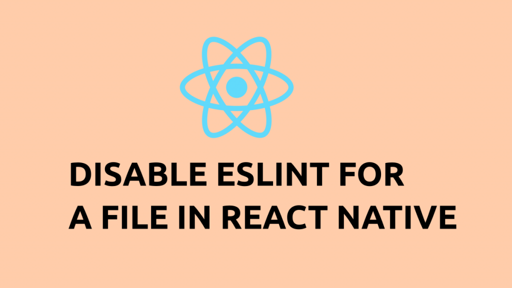 Disable eslint for a file